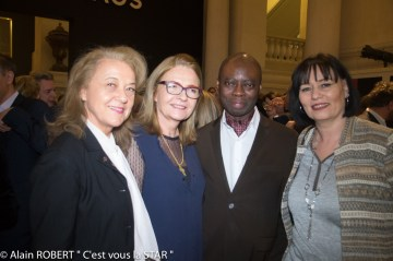 Véronique Grange-Spahis, Agnès Hunault, Prince Samuel Akropong, Elisabeth Deshayes