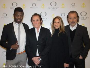 prince Jean-Barthélémy Bokassa, Franck Ros, Martine Zammit Bardini, Gil Ros