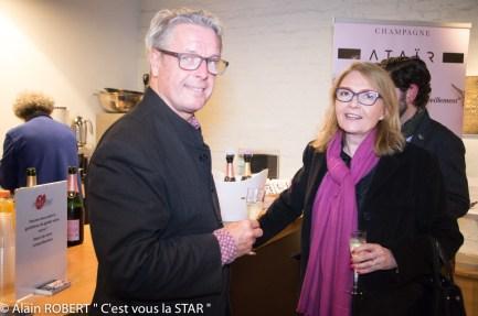 Grégoire de gaulle, Agnès Hunault