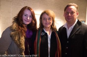 Christine labbé, véronique Grange-Spahis, Adrien Perreau