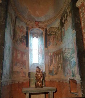 Les peintures murales de l'église du XVIe siècle
