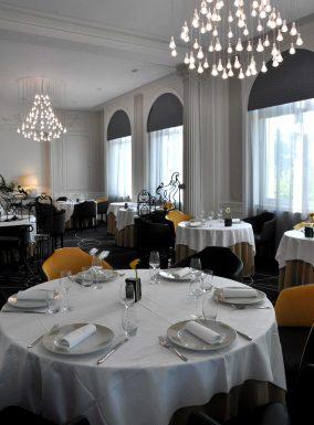 Le restaurant, une étoile du « château Blanchard » à Chazelles-sur-Lyon