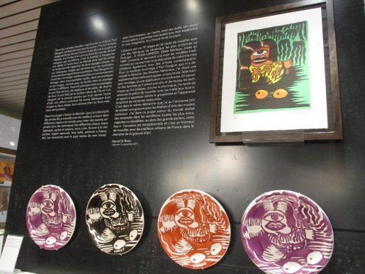 Gaughin, Femme, Marquises, avant le déluge - assiette en céramique - 4 coloris - signée et limitée à 32 exemplaires (8 par coloris)
