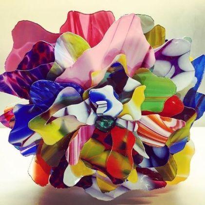 Nathalie Ziegler Pasqua_ Flowers en verre