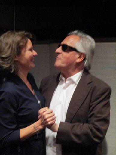 Anne Dorr et Gilbert Montagné