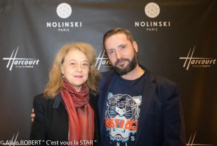 Véronique Grange-Spahis et Emmanuel Sauvage