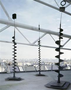 17 - Takis, Signal, 1998, Paris, Centre Pompidou - Musée national d'art moderne - Centre de création industrielle