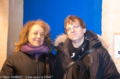 Véronique Grange-Spahis et Yuri Mornay (galerie Lara Vinci)