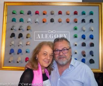 Véronique Grange-Spahis et Henry Achkoyan