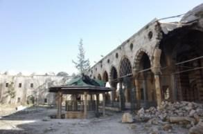 MosquÇe dÇtruite Ö Alep, Syrie