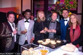 Laurent Amar, Prince Jean-Barthélémy Bokassa, Ira Chichkina de Puiff, Franck Clere, Véronique grange-Spahis