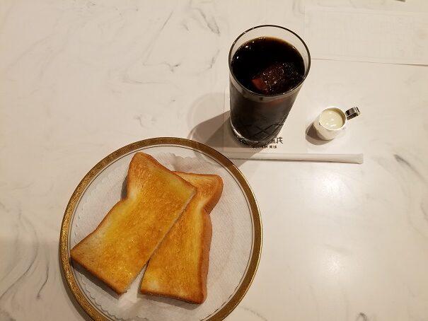 伊丹空港の丸福珈琲店で6時30分より早朝モーニングはおすすめ!
