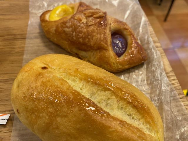 阪神今津駅構内 ベーカリーカフェ ハースブラウン、イートインで7時モーニングはおすすめ!