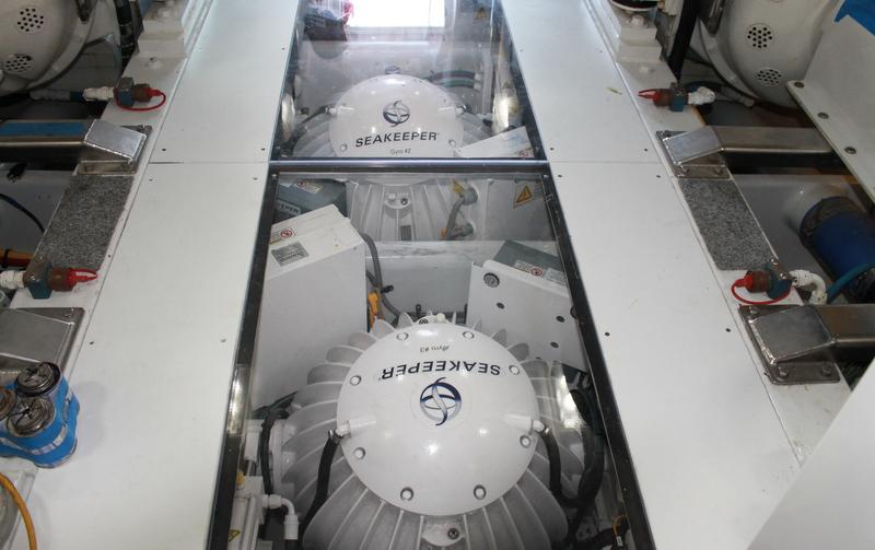 Stabilization System For Yacht Ita Yachts Canada