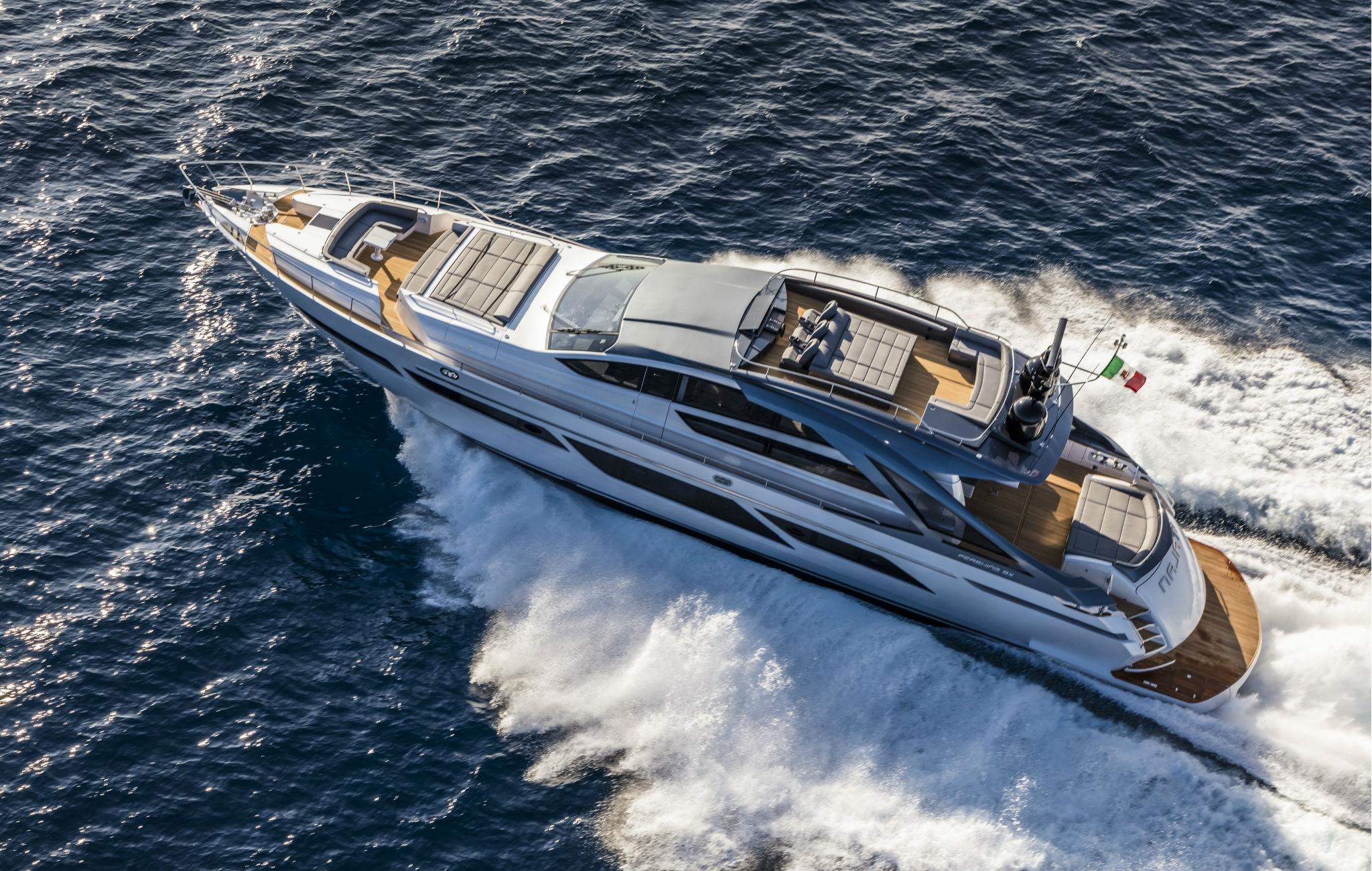 New Pershing 9X Ita Yachts Canada Ita Yachts Canada