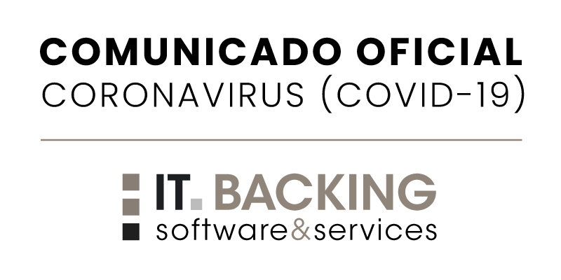 Comunicado Coronavirus (COVID-19) - IT Backing
