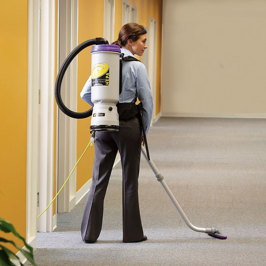 How to Use the ProTeam Backpack Vacuum