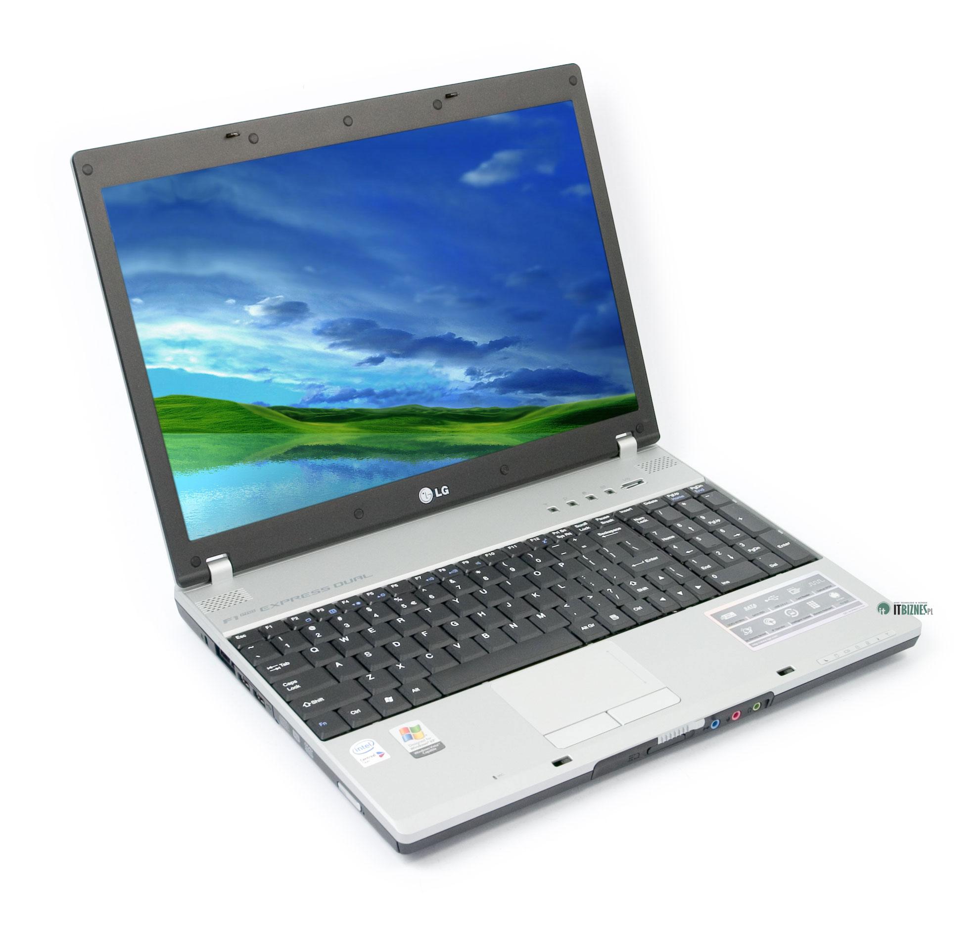 LG F1 Express Dual (F1-227GY) - notebook z klawiaturą numeryczną :: ITbiznes.pl