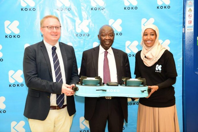 Koko Energy firm Launches ethanol burners to be refuelled using Smart ATMs