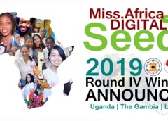 Miss.Africa Digital program announces the fourth round winners