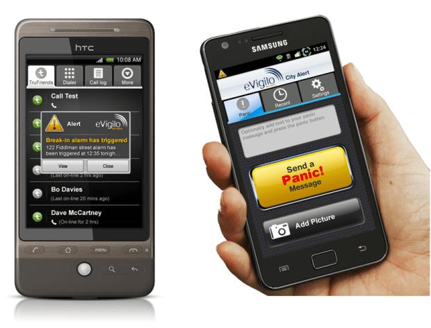 eVigilo – мобильная служба спасения