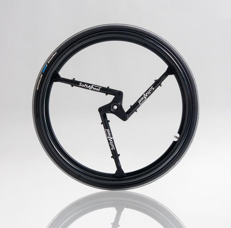 SoftWheel - колесо совстроенной подвеской