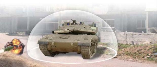 Trophy – система активной танковой защиты