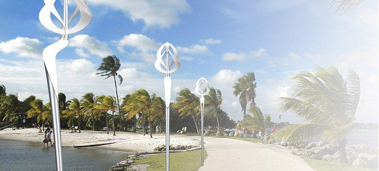 Wind Tulip – бесшумный ветрогенератор