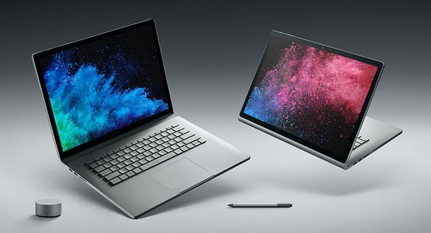 Microsoft Launches Power-packed Surface Book 2