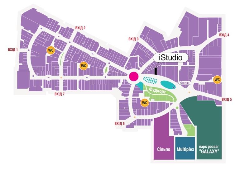 В киевском ТРЦ Lavina Mall откроется новый магазин сети iStudio