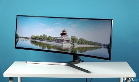 Samsung C49HG90: монитор с диагональю телевизора