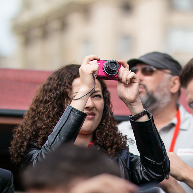 Осенняя презентация новинок Canon в Киеве: EOS M, EOS 6D и другие