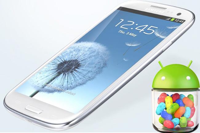 Samsung начала распространять обновление Android 4.1 для Galaxy S III