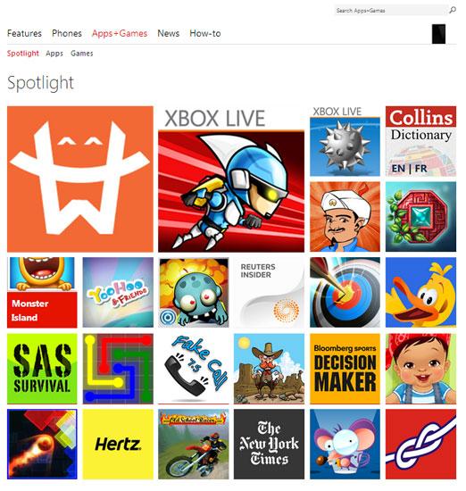 Microsoft переименовала магазин приложений в Windows Phone Store