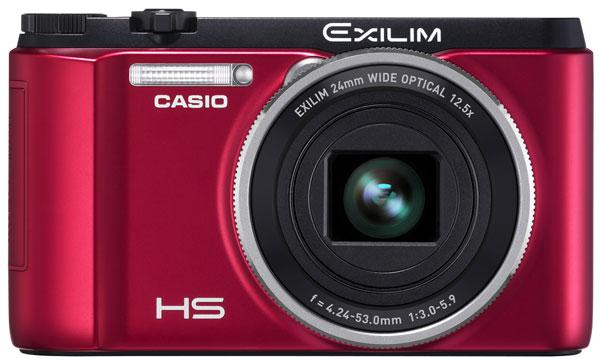 Casio выпустила компактную фотокамеру EXILIM EX-ZR1000