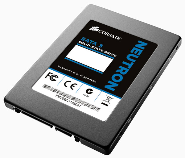 Corsair начинает продажи SSD Neutron Series и Neutron Series GTX