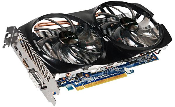 Gigabyte разработала разогнанную видеокарту Radeon HD 7850 с урезанным объемом памяти