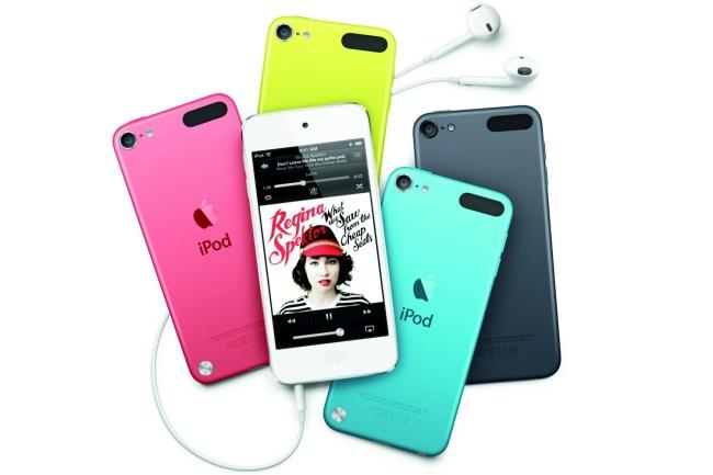 Apple iPod touch 5G: 4-дюймовый IPS-экран, процессор A5, 5 Мп камера и 6 вариантов расцветки