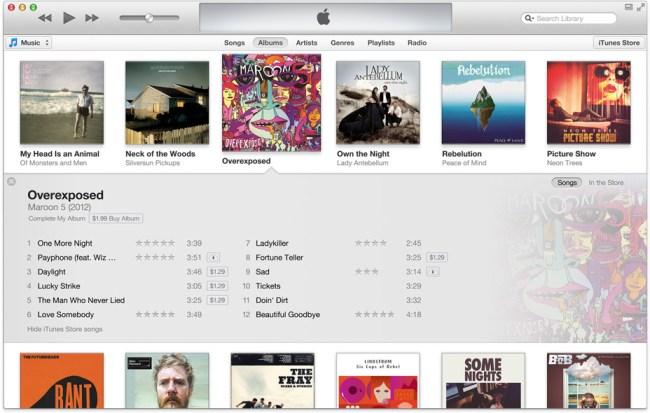 Apple рассказала о нововведениях в iTunes