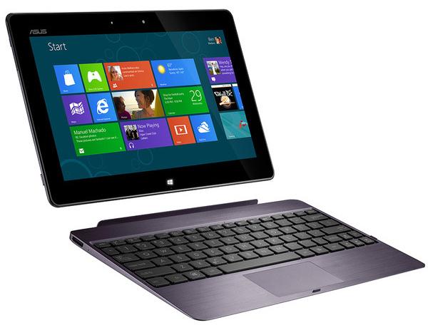 ASUS для Windows 8: гибрид Taichi, сенсорный лэптоп Vivobook X202 и планшет Vivo Tab RT
