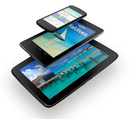 Google официально анонсировала планшет Nexus 10 и обновила Nexus 7