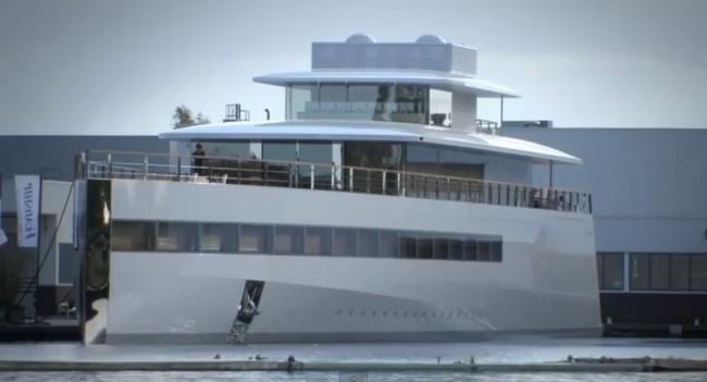 Яхта, которую построил Джобс