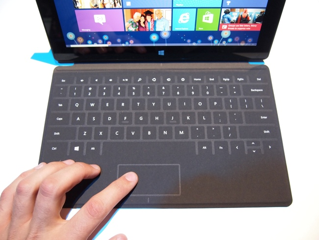 Первый взгляд на планшет Microsoft Surface с Windows RT
