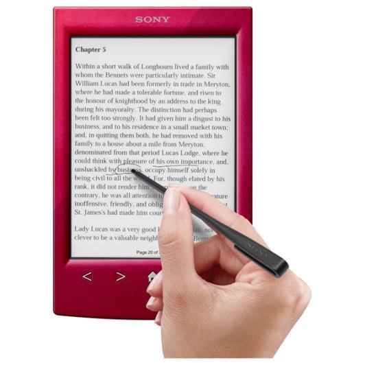 Sony анонсировала в Украине устройство для чтения электронных книг Reader PRS-T2
