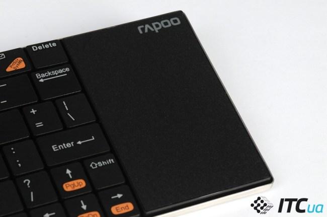 Обзор клавиатуры Rapoo E2700 для медиацентров