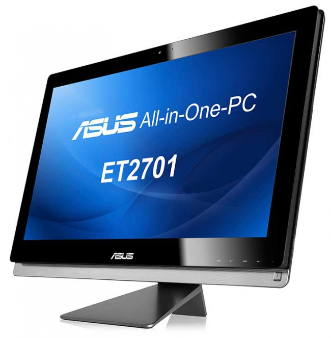 ASUS представила в Украине 27-дюймовый AiO ET2701 с сенсорным VA-дисплеем, внешним сабвуфером и Windows 8