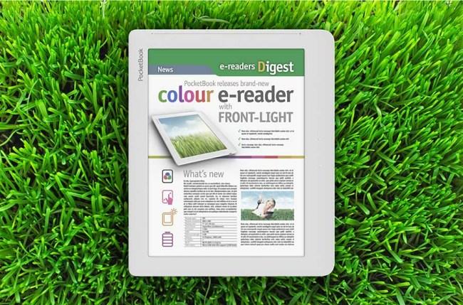 PocketBook анонсировала ридер с цветным E-ink экраном и подсветкой