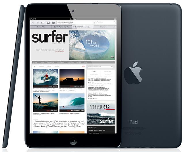 За три дня Apple продала три миллиона iPad mini и iPad 4-го поколения