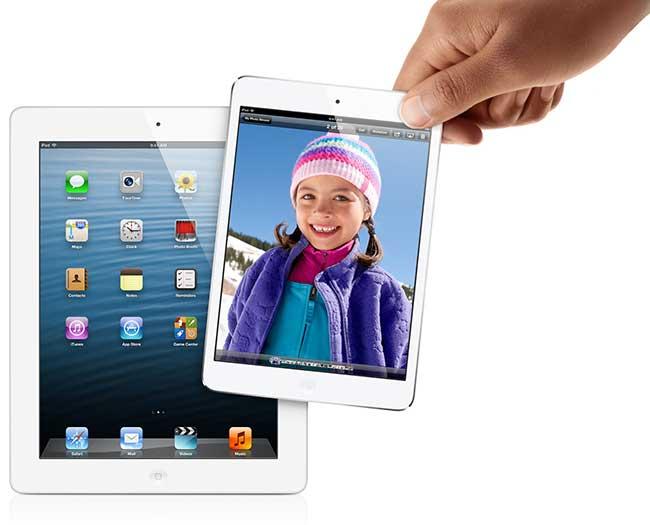 Первые слухи о Retina-дисплее в iPad mini