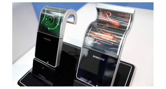 В следующем году Samsung начнет массовое производство гибких дисплеев